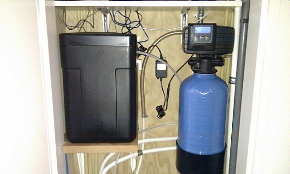 Waterontharder in meterkast